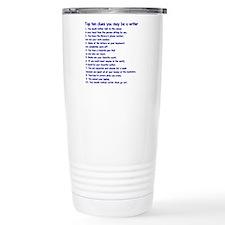 Writer Clues Travel Mug