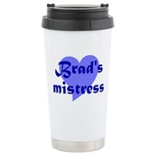 Brad Pitt Mistress Travel Mug