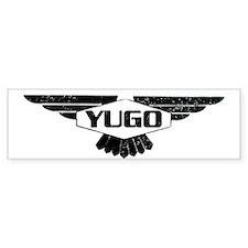 Yugo Bumper Bumper Sticker