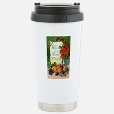 Vintage Thanksgiving Travel Mug