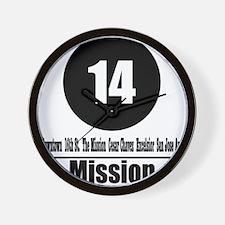 14 Mission (Classic) Wall Clock