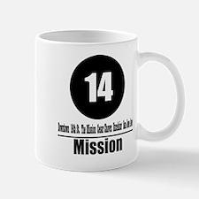 14 Mission (Classic) Mug