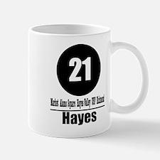 21 Hayes (Classic) Mug