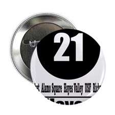 """21 Hayes (Classic) 2.25"""" Button"""