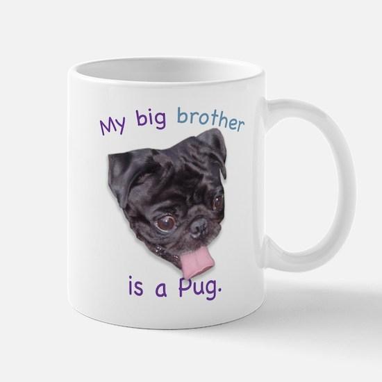 My bib brother is a (black) P Mug