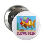 Clown Fish Button