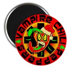 "Vampire Chili Peppers Santa 2.25"" Magnet (10 pack)"