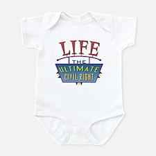 Civil Rights 3 Infant Bodysuit