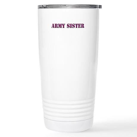 Army Sister Stainless Steel Travel Mug