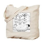 Meditating Goats Tote Bag