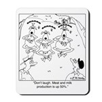 Meditating Goats Mousepad
