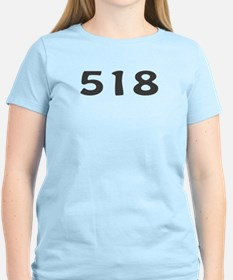 518 Area Code T-Shirt