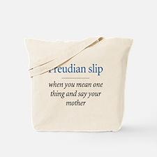 Freudian slip - Tote Bag