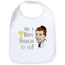 And a Happy Hanukkah to You! (Man) Bib
