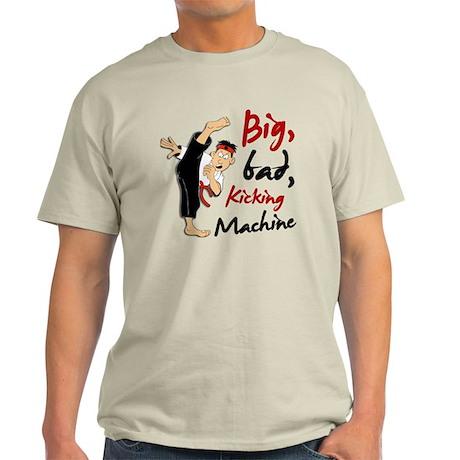 Funny Kicking Man 3 Light T-Shirt