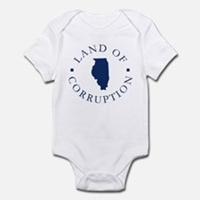 Illinois - Land Of Corruption Infant Bodysuit