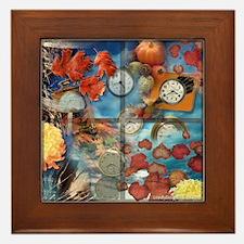 Fall Passing Framed Tile
