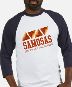 Samosas - Its Whats For Dinne Baseball Jersey