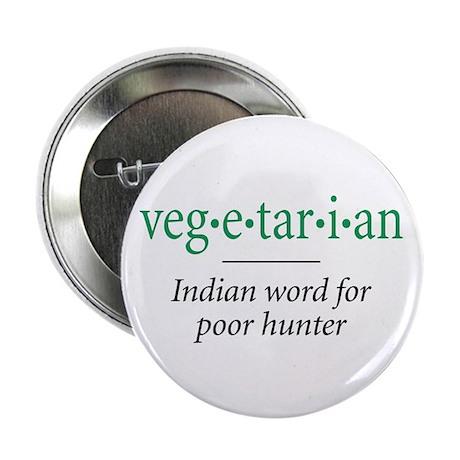"vegetarian - 2.25"" Button"