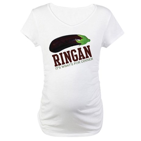 Ringan - Its Whats For Dinner Maternity T-Shirt