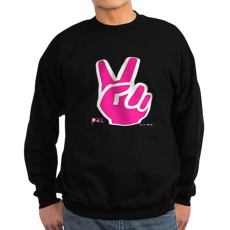 Peace Fingers Sweatshirt (dark)