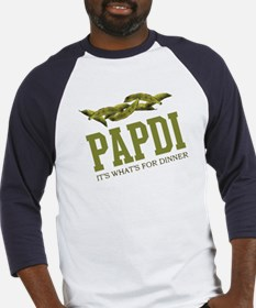 Papdi - Its Whats For Dinner Baseball Jersey