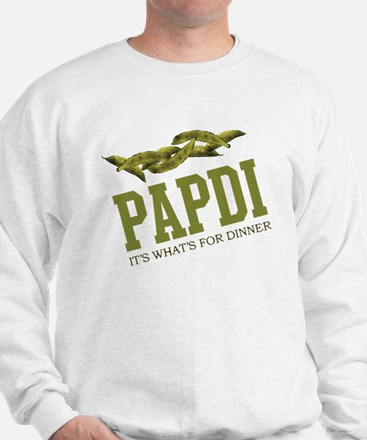 Papdi - Its Whats For Dinner Sweatshirt