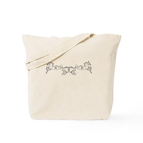 seahorse pair Tote Bag