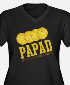 Papad - Its Whats For Dinner Women's Plus Size V-N