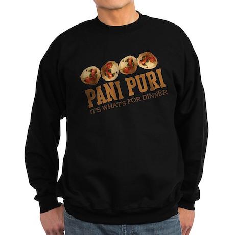 Pani Puri - Its Whats For Din Sweatshirt (dark)