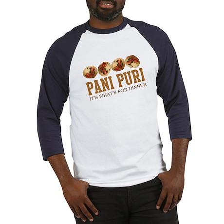 Pani Puri - Its Whats For Din Baseball Jersey