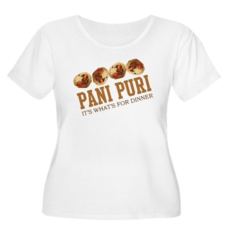 Pani Puri - Its Whats For Din Women's Plus Size Sc