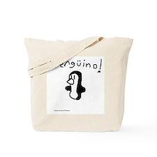 Cute Sexy penguin Tote Bag