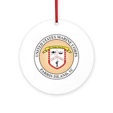 Parris Island Ornament (Round)