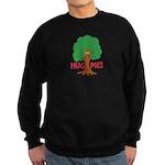 Earth Day : Tree Hugger, Hug me! Sweatshirt (dark)