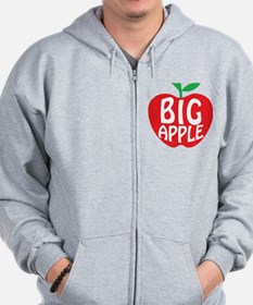 Big Apple New York Zip Hoodie