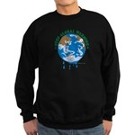 Earth Day : Stop Global Warming Sweatshirt (dark)