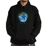 Earth Day : Stop Global Warming Hoodie (dark)