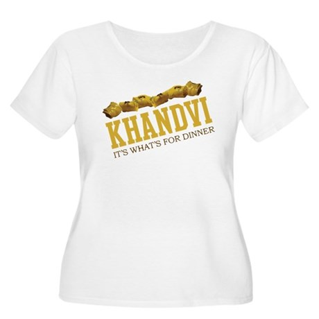 Khandvi - Its Whats For Dinne Women's Plus Size Sc