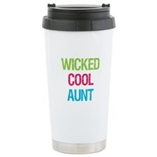 Wicked Cool Aunt! Travel Mug