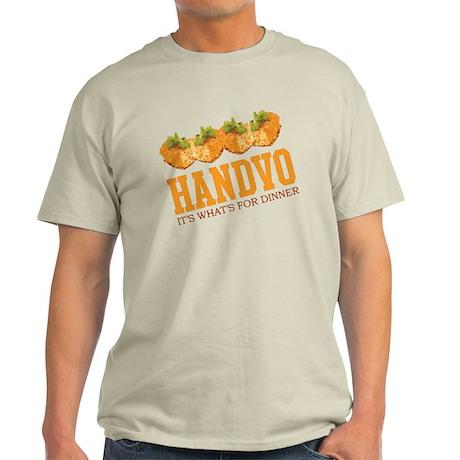 Handvo - Its Whats For Dinner Light T-Shirt