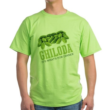 Ghiloda - Its Whats For Dinne Green T-Shirt