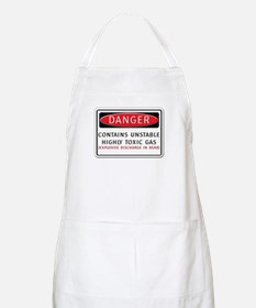 Danger: Contains Unstable Hig BBQ Apron