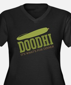 Doodhi - Its Whats For Dinner Women's Plus Size V-