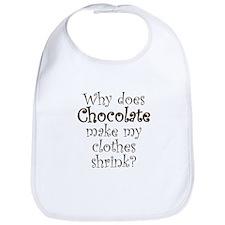 Chocolate Shrink Bib