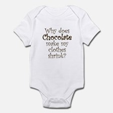 Chocolate Shrink Infant Bodysuit