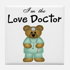 Love Doctor Tile Coaster