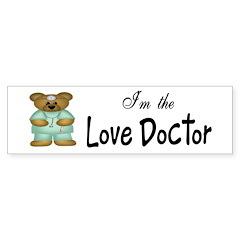 Love Doctor Bumper Bumper Sticker