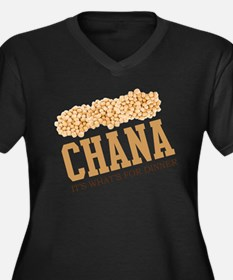 Chana - Its Whats For Dinner Women's Plus Size V-N