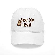 See No Evil Baseball Cap